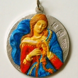 Medallón Virgen Desatanudos