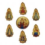 """Medallones para Cáliz """"Nuestra Señora del Buen Ayre"""""""