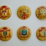 """Medallones para Cáliz """"Santa Cecilia"""" - Catedral de La Plata"""