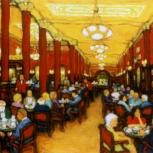 Café Tortoni interior