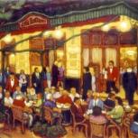 Café Tortoni vereda