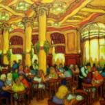 Un café en Las Violetas